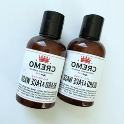 Cremo 2 Pack All in One Beard & Face Wash Gentle Cleansing F
