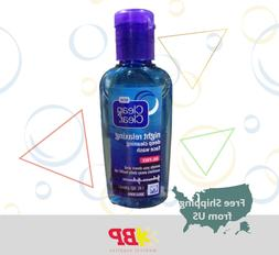 2 Packs Of Clean&Clear Night Relaxing Deep Cleaning Face Was