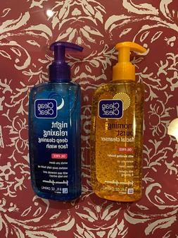2X Clean and Clear & Morning Burst Facial Cleanser Night Rel