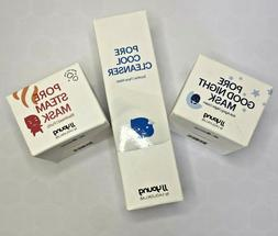 3pk JJ Young Night Cream, Blackhead Purify & Cleanser Face W