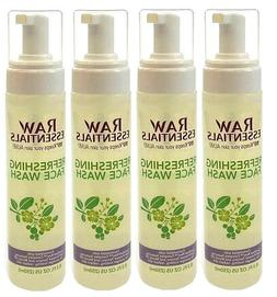 4x RAW ESSENTIALS Refreshing FACE WASH 115° Keeps Your Skin