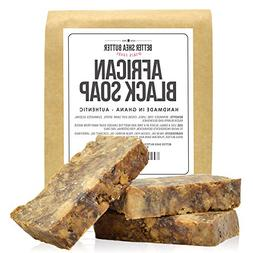 African Black Soap by Better Shea Butter - Use as a Face Was