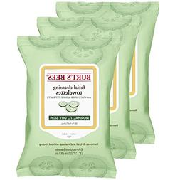 Burt's Bees Sensitive Facial Cleansing Towelettes with Cucum