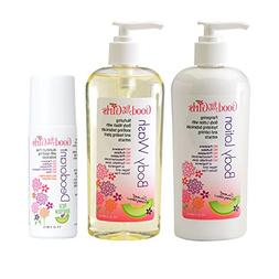 Good For You Girls Body Care Trio, Body Wash, Body Lotion, D