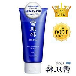 Brightening White Facial Cleanser Face Wash Cream 80g JAPAN