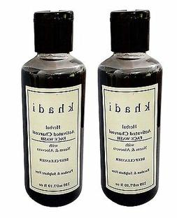 Khadi Activated Charcoal Face wash Paraben and  Sulphate Fre