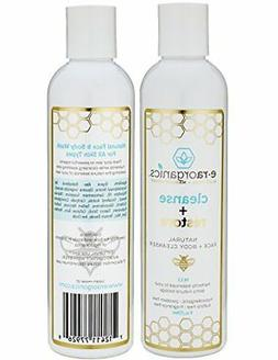 Natural Moisturizing Face Wash - Gentle Sulfate Free Facial