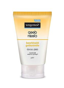 Neutrogena Deep Clean Blackhead Eliminating Daily Scrub .