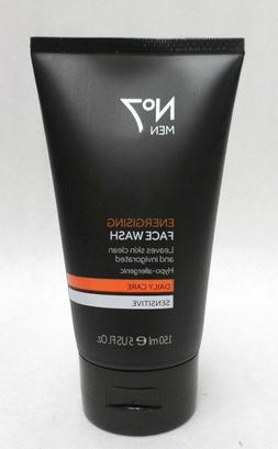 No7 Men Energising Face Wash Daily Care Sensitive Hypoallerg
