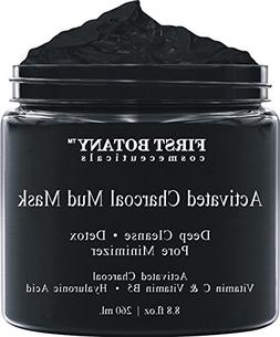 Activated Charcoal Mud Mask 8.8 fl oz. - For Deep Cleansing