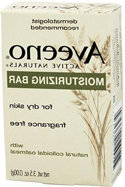 AVEENO Active Naturals Moisturizing Bar Fragrance Free 3.5 O