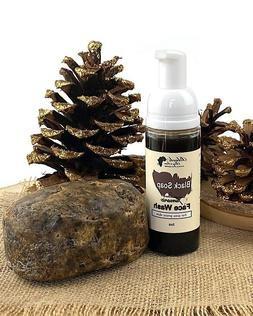 African Black Soap Foaming Facewash with Organic Turmeric fo