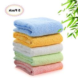 Kyapoo Bamboo Baby Washcloths Natural Towels Ultra Soft Hypo