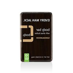 Every Man Jack Body Bar, Sandalwood, 7 Ounce