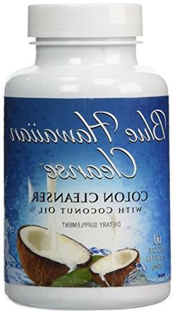 Blue Hawaiian Cleanse - Colon Cleanser with Coconut Oil - 60