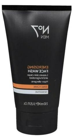 *Boots No.7* Men's Energizing Face Wash *Sensitive Daily C