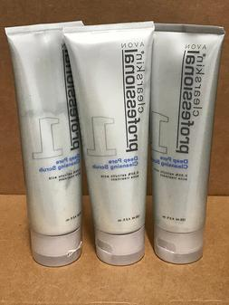 Avon Clearskin Professional Deep Pore Cleansing Scrub Lot 3