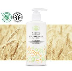 FARMGRAIN CONEY Organic Grain Baby Hair & Body Cleanser TEAR