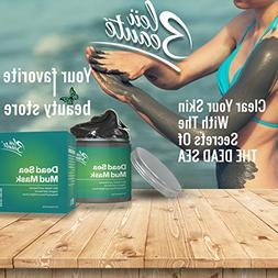 DEAD SEA Facial Mud MASK - reduces wrinkles restores natural