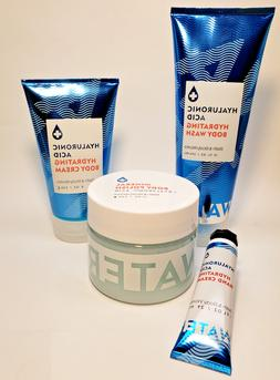 Discontinued HYALURONIC ACID DELUXE SET Body Cream, Polish,