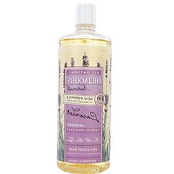 Dr. Jacobs Naturals Face & Body Wash, Lavender, 16 Ounce
