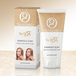 Natural Organic Facial Cleanser Containing Dead Sea Mineral