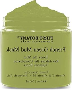 French Green Mud Mask 8.8 fl oz for men and women - an anti
