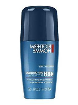 Homme Day Control Deodorant Roll-On by Biotherm, 2.53 Ounce