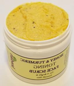 Honey and Turmeric Toning Face Scrub - Fresh and all Natural