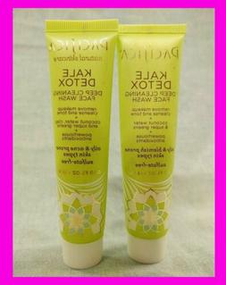 Pacifica KALE DETOX Deep Cleaning Face Wash Cleanser Oily Bl
