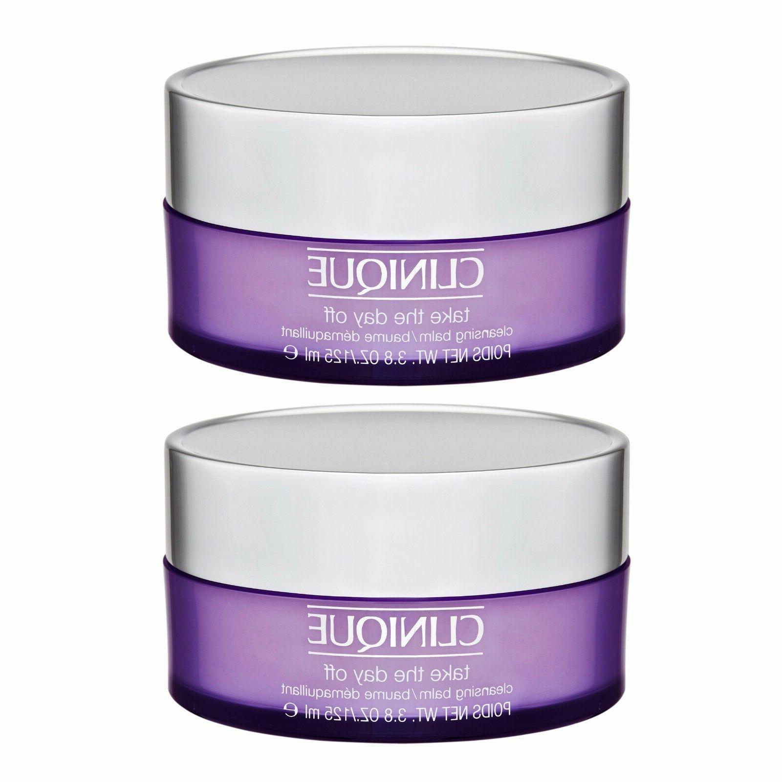 2x4.2oz=8.4oz Clinique Take the Day Off Cleansing Balm Face