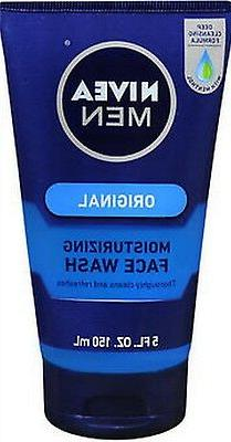 3 Pack Nivea Men Maximum Hydration Moisturizing Face Wash 5