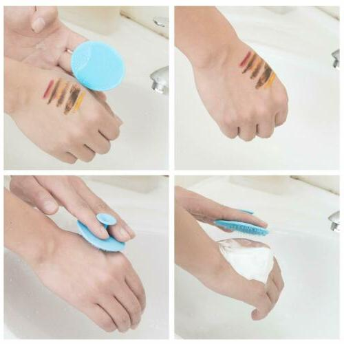 3X Silicone Wash Pad Face Exfoliating Cleansing Brush Beauty