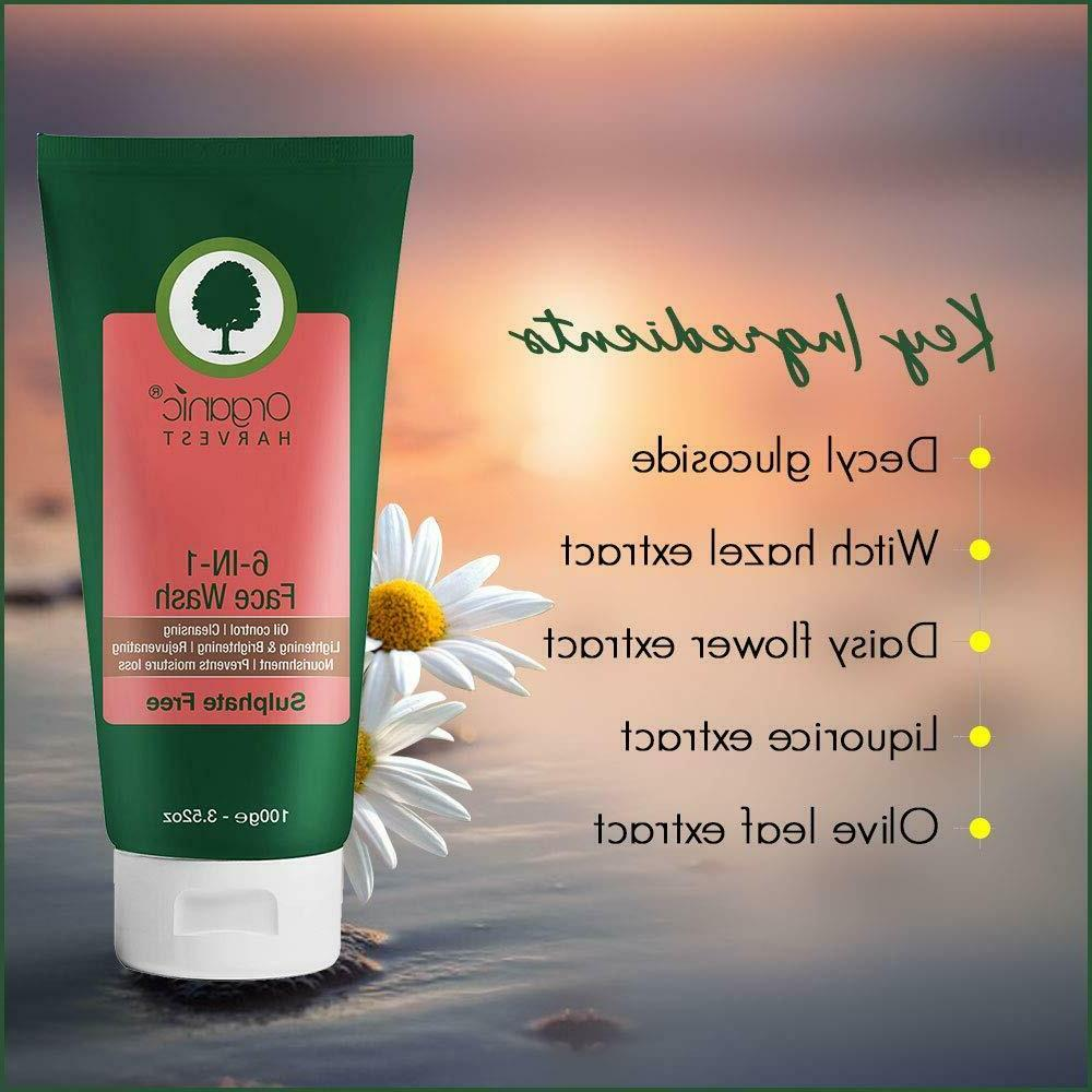 Organic Harvest Wash Oil Cleansing   Free
