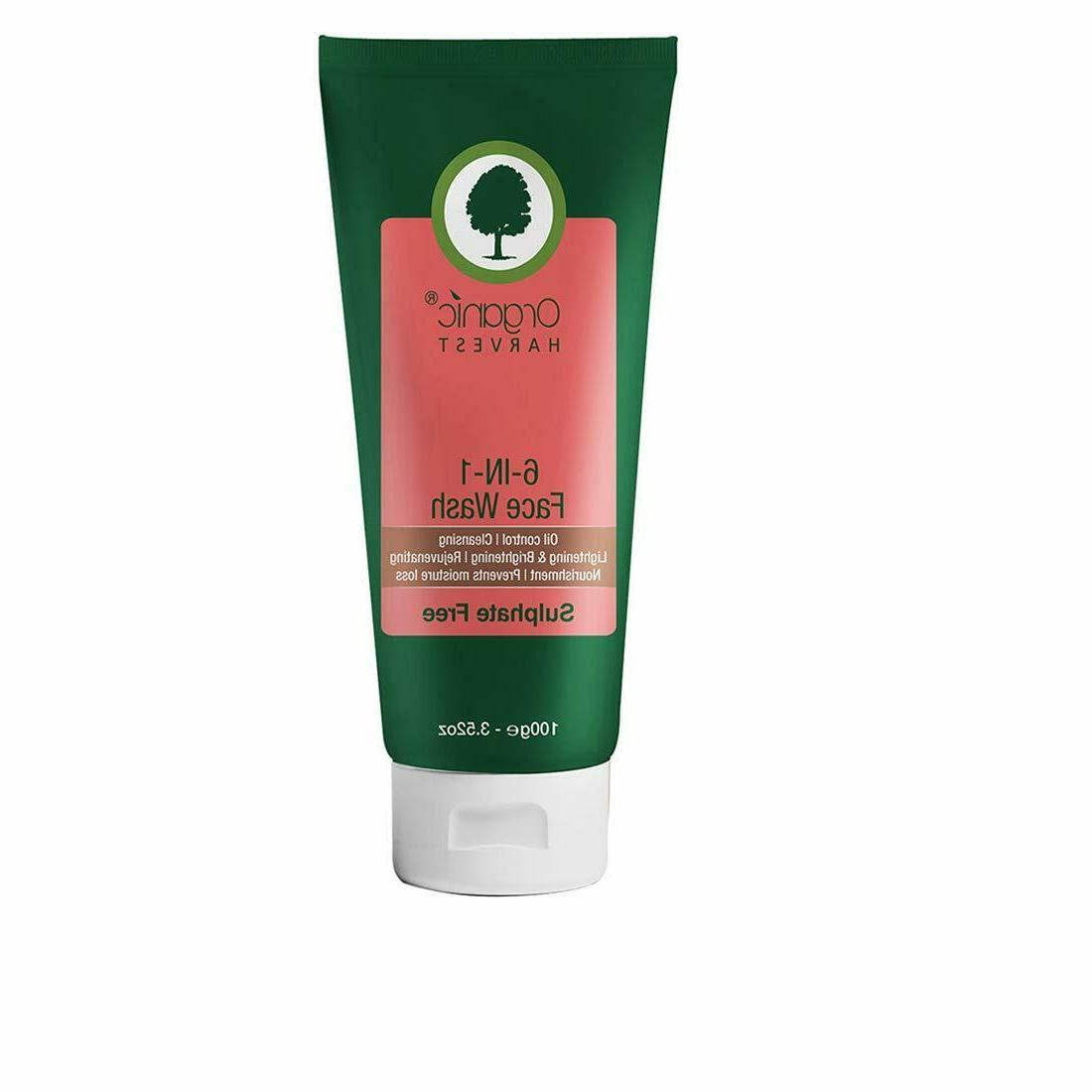 6 in 1 face wash oil control