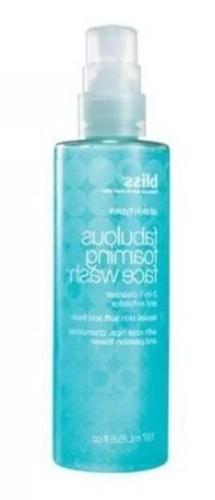 BLISS FABULOUS WASH IN CLEANSER & EXFOLIATOR oz
