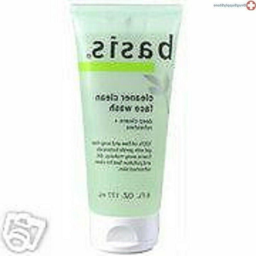 Basis Cleaner Clean Face Wash 6oz Case of 12