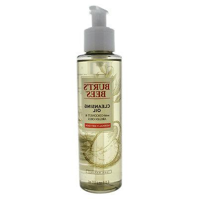 Burt's Bees Cleansing Oil with Coconut & Argan Cleanser, 6 O