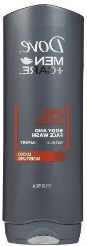 Dove Men + Care Body and Face Wash, Deep Clean, 18 Oz
