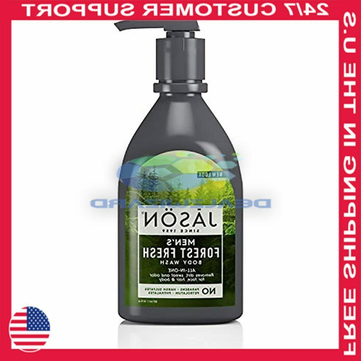 JASON Natural Products - Men's All-In-One Body Wash Forest F