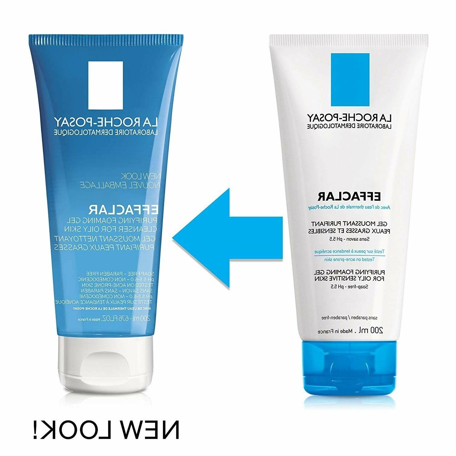 La Roche-Posay Effaclar Purifying Foaming Face Wash Gel Clea
