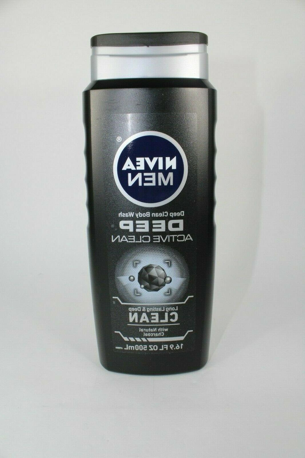 Nivea Men Active Clean,