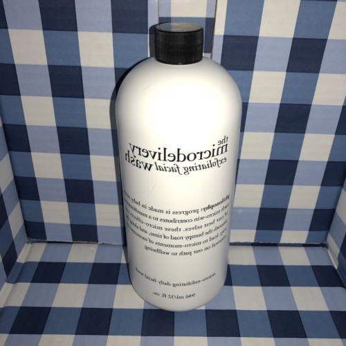Philosophy Microdelivery Face Wash 32oz Bottle Sealed