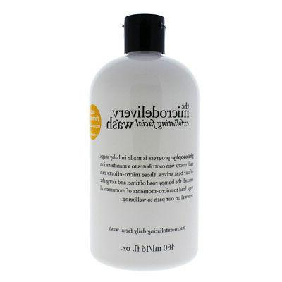 Philosophy The Microdelivery Exfoliating Wash Face Wash 16 o