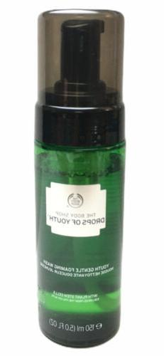 The Body Shop Drops Of Youth Gentle Foaming Face Wash