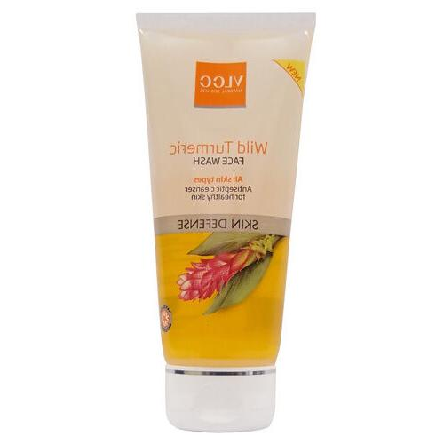 VLCC Wild Turmeric Face Wash Antiseptic Cleanser 80ml | Free