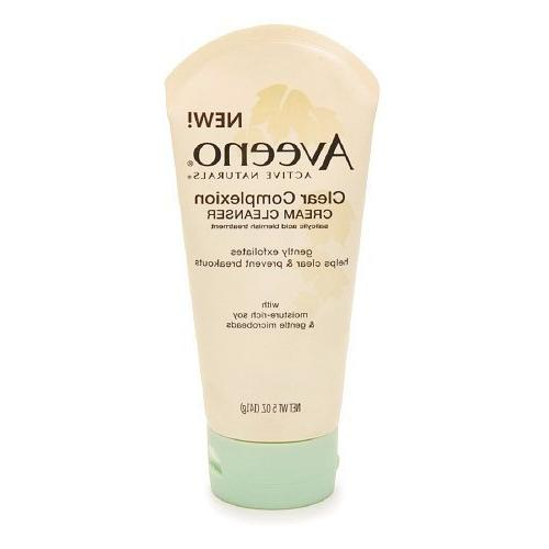 active clear complexion cream cleanser