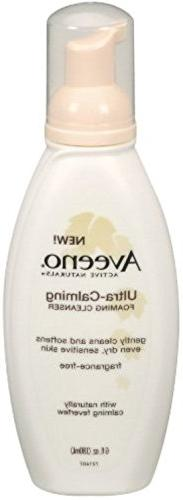 AVEENO Active Naturals Ultra-Calming Foaming Cleanser 6 oz