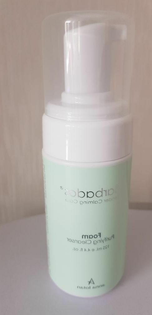 barbados foam purifying cleanser for oily combination