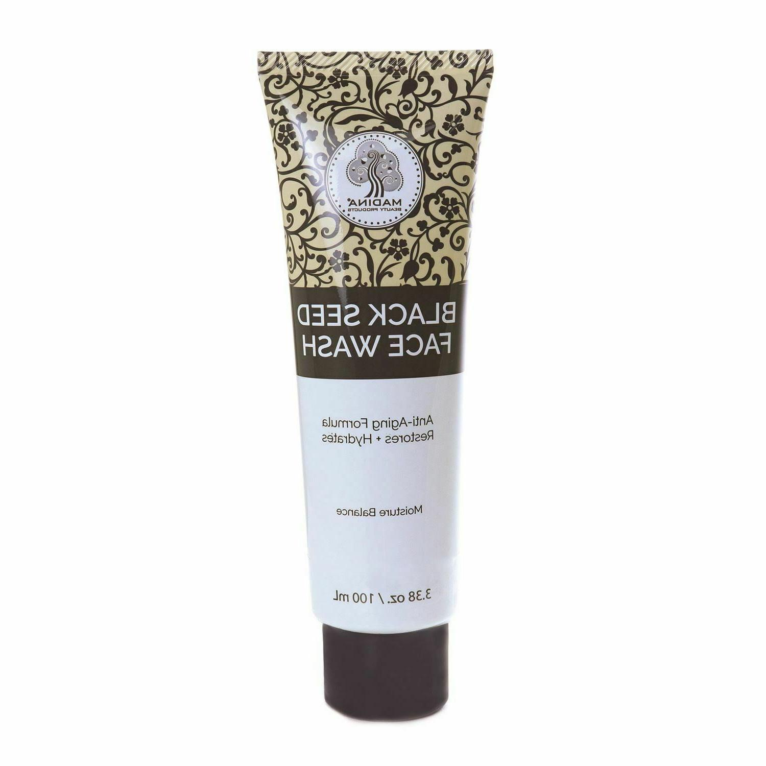 100% Natural Black Seed Face Wash - 3.38 oz